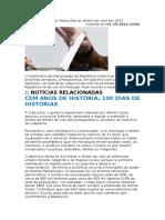 Diário Da República - Restrições Ao Direito de Voto Em 1913