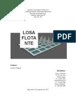 LOSA FLOTANTE