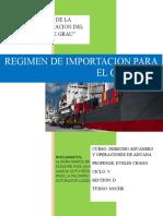 Importación de Mercancías Para El Consumo