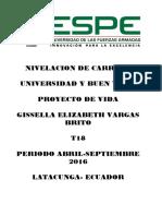 Proyecto de Vida Gissella Vargas