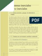 06 Cap. 5 Sistemas Inerciales y No Inerciales