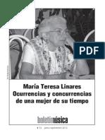 Ocurrencias y Concurrencias - Maria Teresa Linares