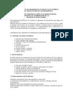 Caracteristicas que debe llevar un documento de residencia asi como su ensayo de tesis