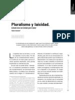 Pluralismo y Laicidad