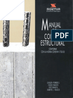 Manual Del Concreto Estructural de J. Porrero