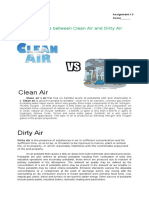 Clean Soil and Dirty Soil