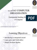 TCB1043_LectW08 - Fundamental Building Block of Computer 1