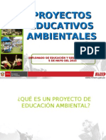 PROYECTOS DE EDUCACIÓN AMBIENTAL Lic. Ulianov Sulca Chacchi