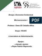 Ensayo de Microeconomia Completo (1)