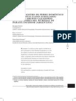 ACOSTA, A. Et.al. Primer Registro de Perro Doméstico Prehispánico Entre Los Grupos Cazadores Recolectores Del Humedal de Paraná Inferior. 2011