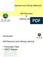 PDSM-Self-Discovery and Lifelong Learning Notes