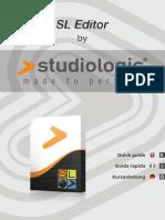 SLEditor Quick Guide [en IT de]