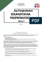 CG Edukasyon Sa Pagpapakatao 5