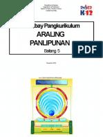 CG for Araling Panlipunan 5