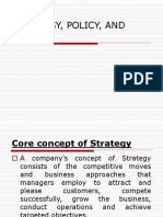 Strategy Policy and Tactics 2