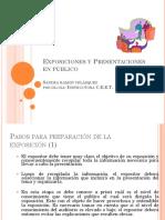 Anexo 1 Expresión Oral - Exposiciones y Presentaciones en Público