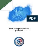 Bgp Configuration Best Practices