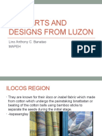 Folk Arts and Designs From Luzon g7 q1