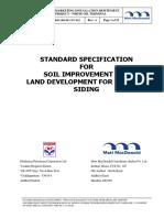 5.Spec of Soil Imp - Land Dev for Rs