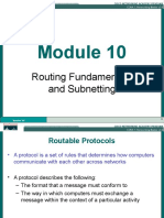Routing Fundamentals