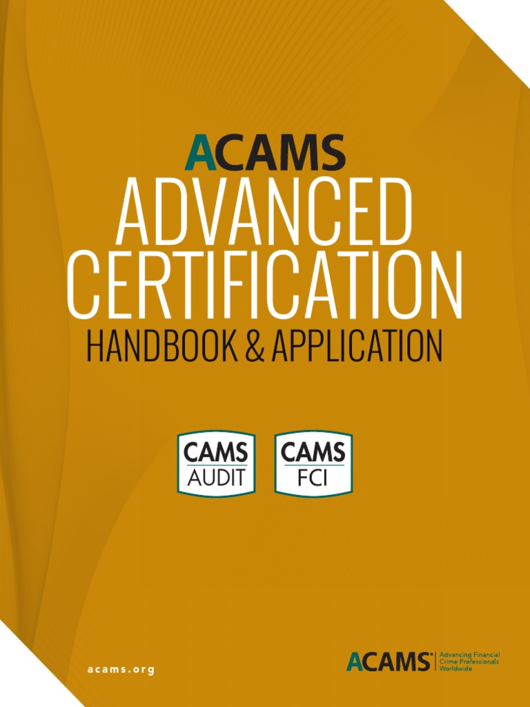 Advanced Certification Handbook Final 07 15 2015 Money Laundering