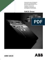 89833686 Manual Instalacion Abb Sace e Max 2500 A