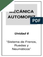 Mecánica Automotriz - Unidad 6
