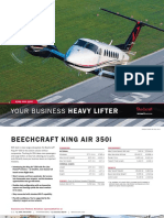King Air 350i ProductCard