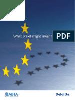 Abta Brexit Online