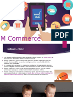 M Commerce Ppt