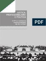 Justica, Profissionalismo e Politica