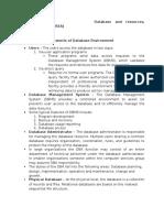 Database and REA Hardcopy
