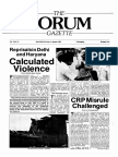 The Forum Gazette Vol. 2 No. 14 July 20-August 4, 1987