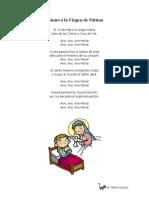 Himno a La Virgen de Fatima