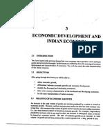 L-3 Economic Development and Indian Economy