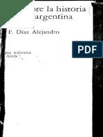 DIAZ - Ensayos Sobre La Historia Economica Argentina (Pp 34