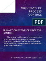 Objectives of Process Control