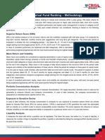 CRISIL Mutual Fund Ranking Methodology Dec 2015