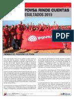 Informe Financiero de Pdvsa