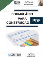 Formulário para Construção Civil
