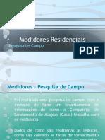 Medidores de água Residenciais