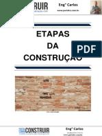 Etapas da Construção