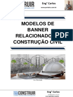 Modelos de Banner relacionados a Construção Civil