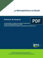 Governança metropolitana