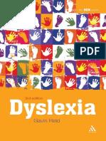 2011 - Dyslexia