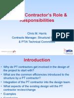 DC PT Contractors Role Responsibilities PTIA IEAust Newcastle