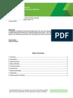 VMware Certification Platform Interface