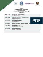 Agenda 23.05.2015