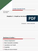 Chapitre I- Impôt Sur Les Sociétés