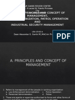 Drills in Principle and Concept of Management,